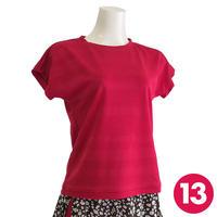 【13号】フレンチスリーブTシャツA3 PDF型紙