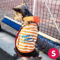【Sサイズ】犬のフード付きタンクトップA4 PDF型紙