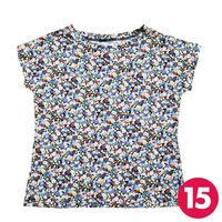 【15号】フレンチスリーブTシャツA3 PDF型紙