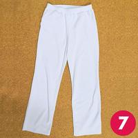 【7号】切り替えポケット付きストレートパンツの作り方
