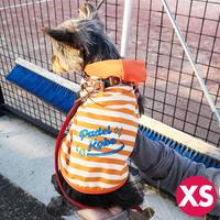 【XSサイズ】犬のフード付きタンクトップA4 PDF型紙