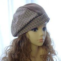 【Mサイズ】8枚ハギのたるみベレー帽 A3 PDF型紙(55~59cm用)