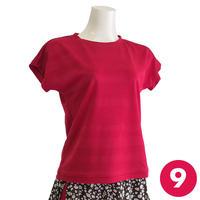 【9号】フレンチスリーブTシャツA3 PDF型紙