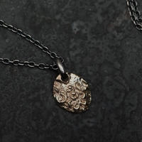 【予約】 Ancient  flower necklace K10+SV 【HRP091 K10TOP】