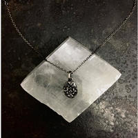 【予約】 Ancient flower necklace SV
