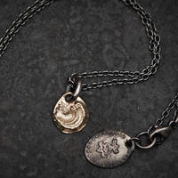【予約】 Ancient moon necklace K10+SV 【HRP090 K10TOP】