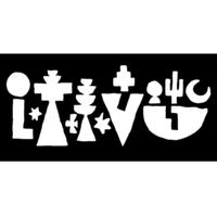 LAAVU logo sticker