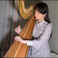 【楽譜】月の光/ドビュッシー (レバーハープ&グランドハープ中級)Clair de lune/Debussy(for lever harp)