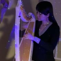 【楽譜】星に願いを(レバーハープ用)When you wish upon a star(Lever harp)