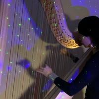 【楽譜】星に願いを(グランドハープ用)When you wish upon a star(Grand harp)