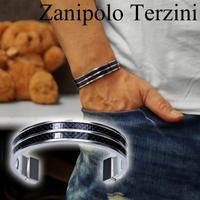 Zanipolo Terzini  バングル  カーボン ザニポロタルツィーニ