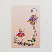 ポストカード コッペリア【お花のバルコニー】