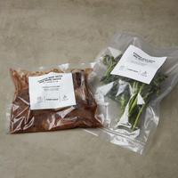 【予約販売】極上ワンパンキャンプ飯ミールキット 『牛バラ肉の赤ワイン煮』 2名用