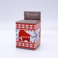 マンモス展限定 エンボスロールテープ《RED》