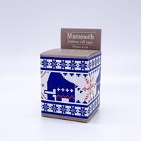 マンモス展限定 エンボスロールテープ《BLUE》