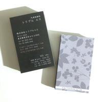 65d1_biz ビジネス名刺  英表記【100枚】