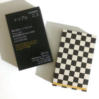 64d1_biz ビジネス名刺  英表記【100枚】