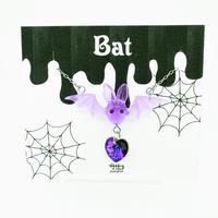 Batネックレス 紫