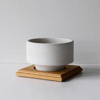 RECLAIM pot / Deep / WH / Oak