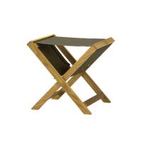 TRINAL stool / Cotton Canvas / Oak
