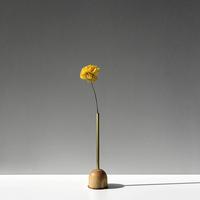 FUNNEL bud vase / L  / Ash