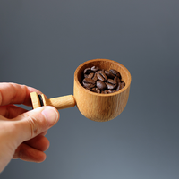 LEHTO coffee measure spoon / Oak