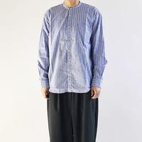 BAND COLLAR SHIRTS  STRIPES CLOTH(バンドカラーシャツ  ストライプ柄)  A31903