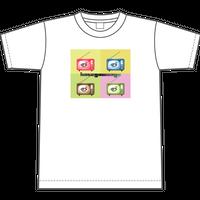 TシャツTV【ホワイト】