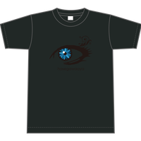 TシャツBLUEEYE【 スモークブラック】