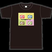 TシャツTV【ブラック】