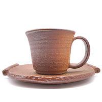 カップ&ソーサー・陶器の花川焼