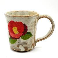 花柄マグカップその1・陶器の花川焼