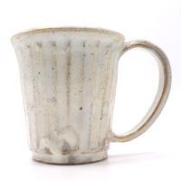 ストライプマグカップ・陶器の花川焼