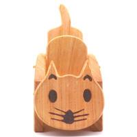 ネコちゃんリモコンラック・センダン木工品