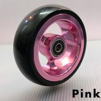 ワイドキャスター4インチ ピンク