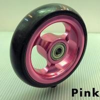 ナローキャスター4インチ ピンク