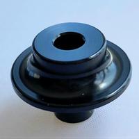 【橋輪オリジナル】ワイドキャスター用スペーサー(キャスターカラー)黒 ※1台分は4個必要です