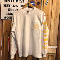 """Hand-Drawn Logo""  Long Sleeve Tee"