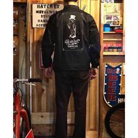 """""""HATCHET MAN"""" Nylon coach jacket"""