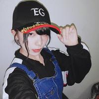 【千代絢子サイン入り】EGプロジェクトキャップ【オンラインゲーム部、映画鑑賞部対象商品】