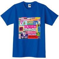 ** 発送専用 ** 民族ハッピー組5周年(とゆうかEGプロジェクト5年の歩み)記念Tシャツ るいver.【オンラインゲーム部、映画鑑賞部対象商品】