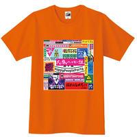 ** 発送専用 ** 民族ハッピー組5周年(とゆうかEGプロジェクト5年の歩み)記念Tシャツ りさver.【オンラインゲーム部、映画鑑賞部対象商品】