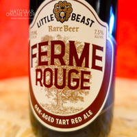 "BOTTLE#44『FERME ROUGE』""フェームルージュ"" Oak-Aged Tart Red Ale/7.5%/375ml by LITTLE BEAST Brewing"