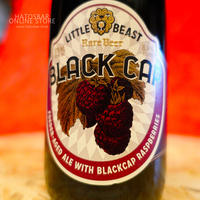 "BOTTLE#46『BLACK CAP』""ブラックキャップ"" Foeder-Aged Ale/8.4%/375ml by LITTLE BEAST Brewing"