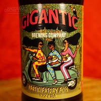 "BOTTLE#118『Participatory Aces』 ""パーティシパトリー エース"" HAZY IPA/7.9%/500ml by GIGANTIC Brewing."