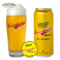 "CAN#54『KöLSCH』""ケルシュ"" Kölsch/4.5%/473ml by Occidental Brewing"