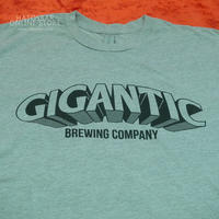 "GIGANTIC BREWING -T Shirts- ""LOGO"" Gray ジャイガンティック ""ロゴ"" Tシャツ(送料込)"