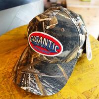"GIGANTIC BREWING -CAP- ""LOGO""CAMO  ジャイガンティック ハンティング キャップ ""ロゴ"" カモ"