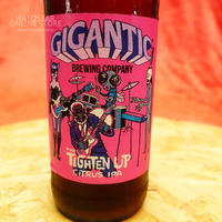 "BOTTLE#63『THE TIGHTEN UP』 ""タイテンアップ"" Citrus IPA /6.2%/500ml by GIGANTIC Brewing."