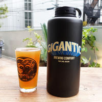 "『GIGANTIC Brewing -Stainless Steel Growler-』""ジャイガンティック ・ステンレス製BEERグラウラー"